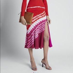 Sachiko Tie-Dye Silk skirt